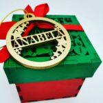 personalizirane božićne kuglice