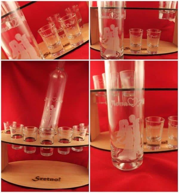 Set za liker+7 čašica, 260kn