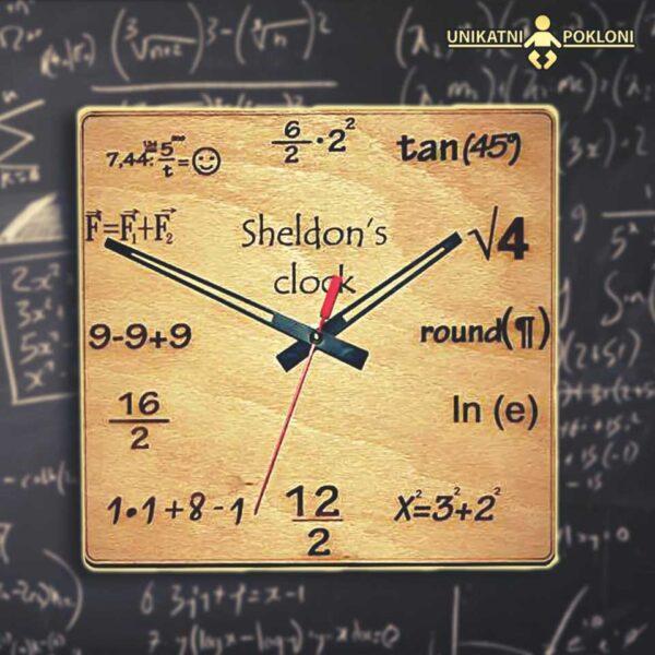 Sheldon's clock