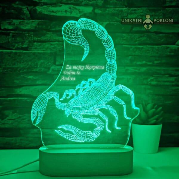 Škorpija zelena
