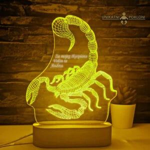 poklon za škorpiona