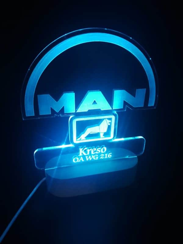 led lampa MAN