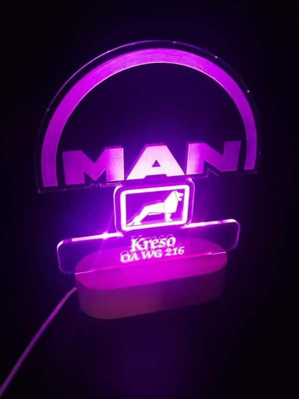 LED lampa MAN