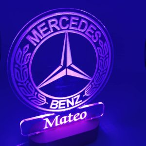 lampa, led, usb, mercedes