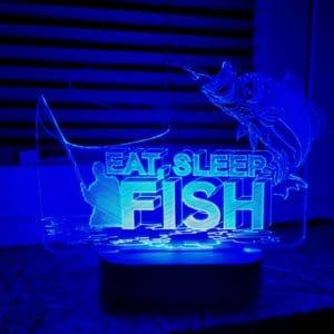 3D lampa Ribič