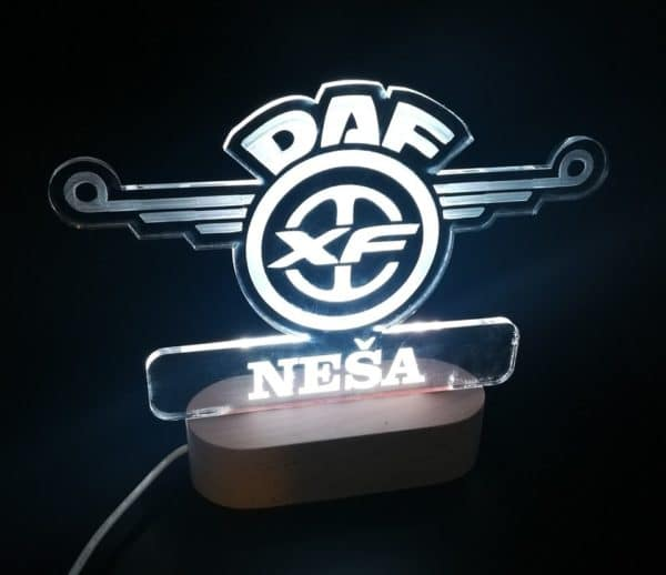 led lampa DAF