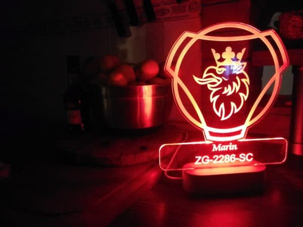 SCANIA led lampa