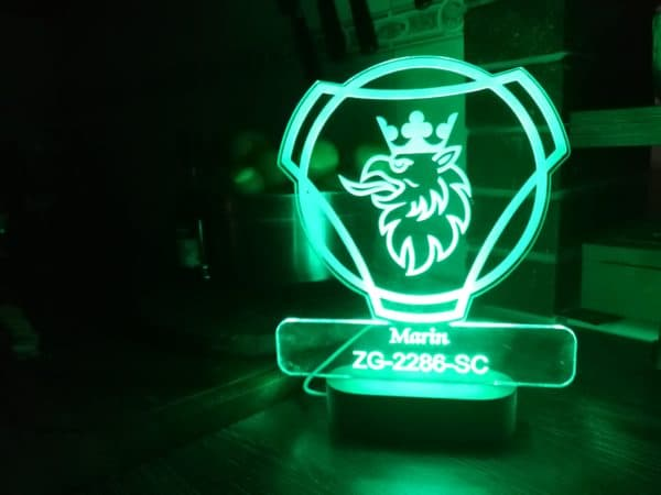 led lampa SCANIA