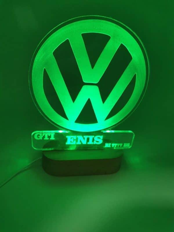 VW led lampa