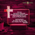 ambijentalna lampa križ