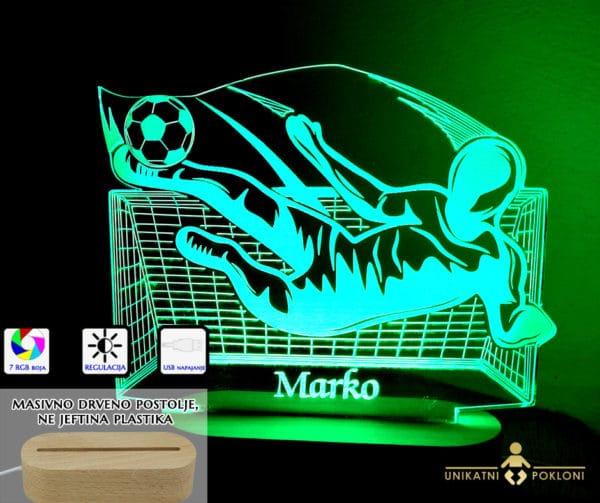 3D nogometaš