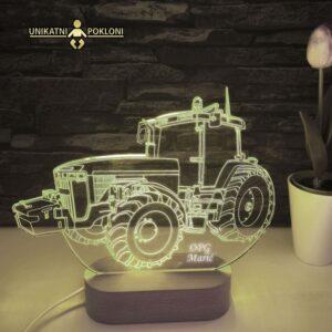 traktor lampa
