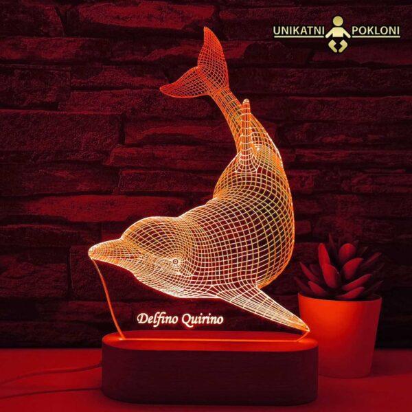 lampa delfin
