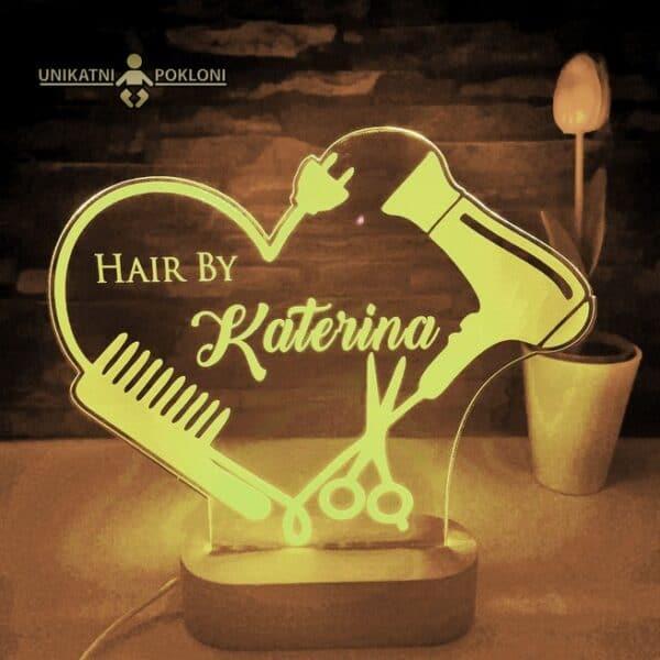 led lampa frizerski salon