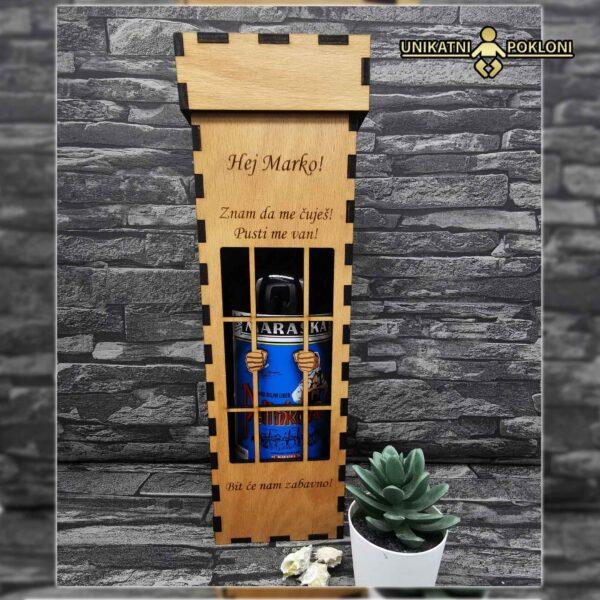 Šaljiva kutija za vino