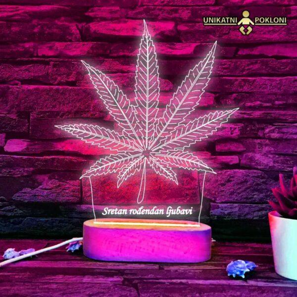 marihuana lampa