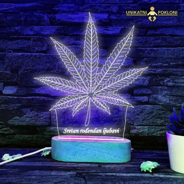 LED lampa trava