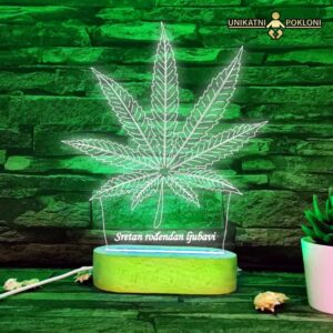 LED lampa trava -hemp