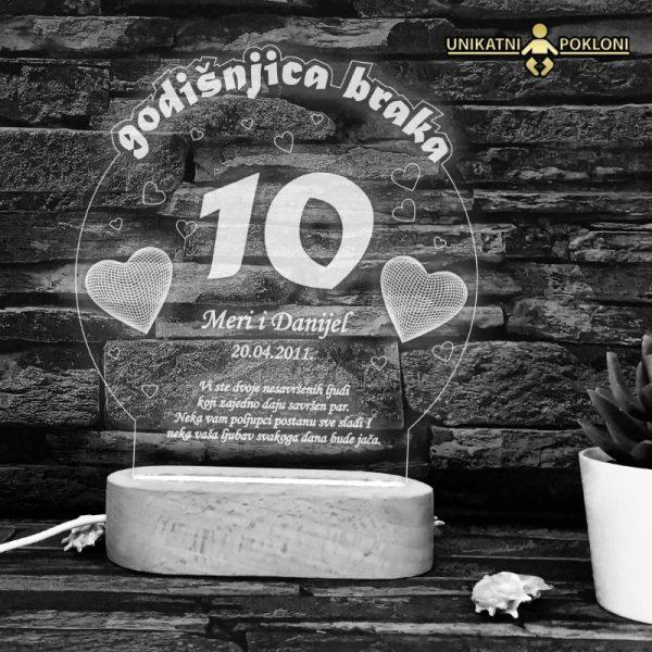 Poklon za 10 godišnjicu braka