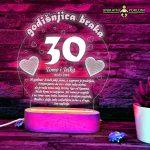 poklon za 30 godišnjicu braka-2