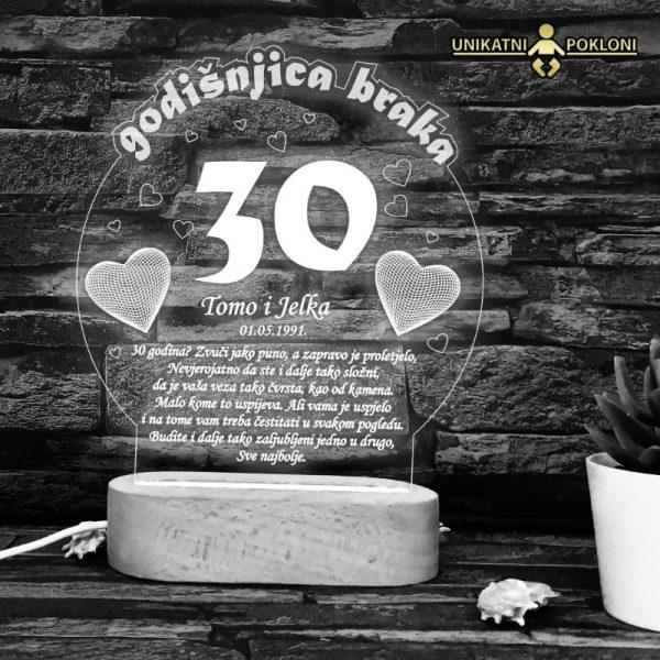 Poklon za 30 godišnjicu braka
