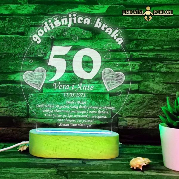 Poklon za 50 godišnjicu braka