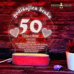 poklon za 50 godišnjicu braka -3