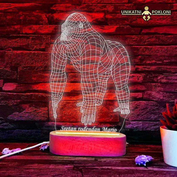 Gorila LED lampa